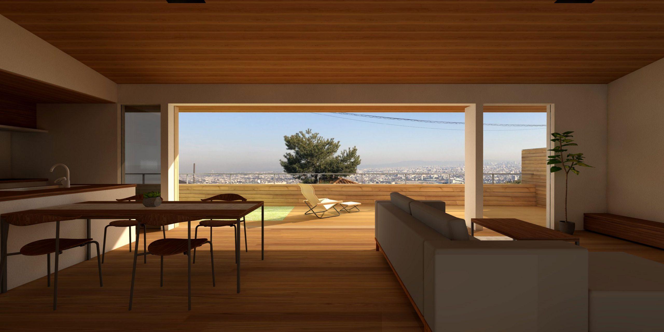 高台の家|atelier thu